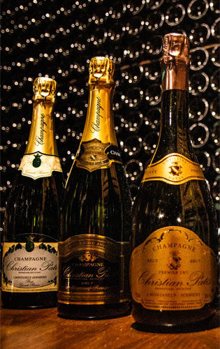 Champagne Christian Patis Caisses Personnalisables