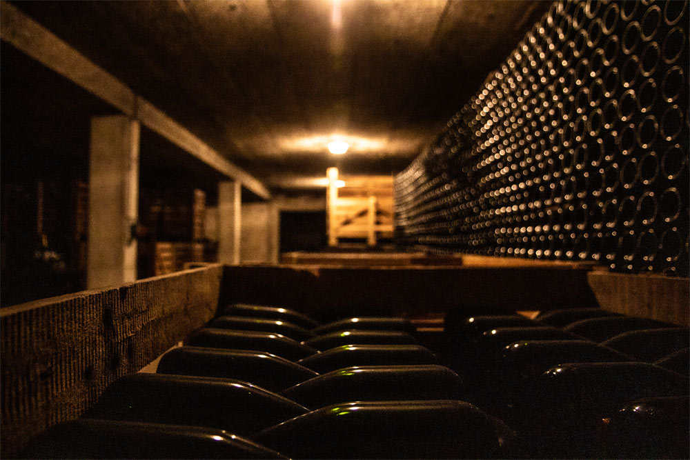 Champagne Christian Patis Vieillissement