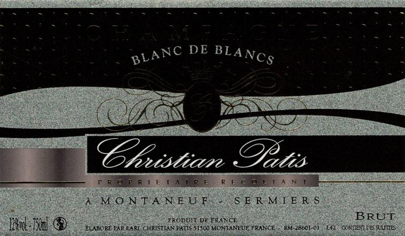 Champagne Patis Blanc de Blancs