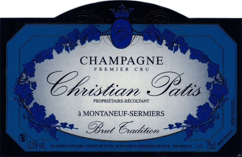 Champagne Christian Patis Brut Tradition