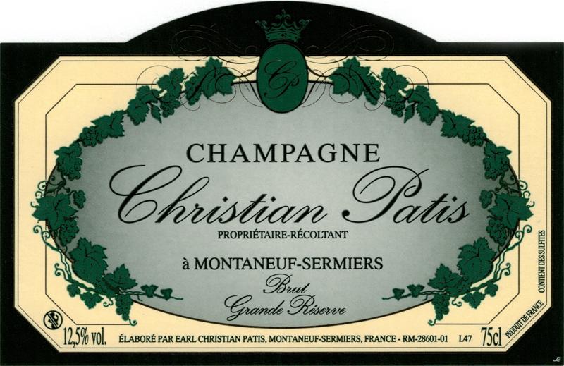 Champagne Chrisitian Patis Grande Réserve