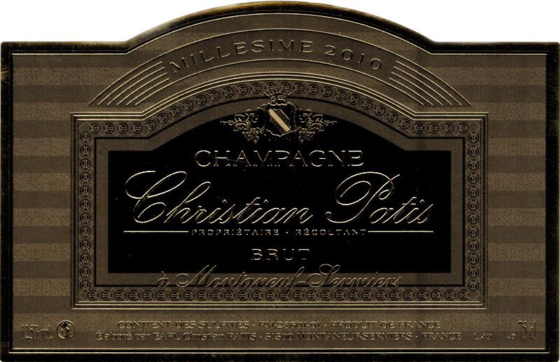 Champagne Christian Patis Millésimé