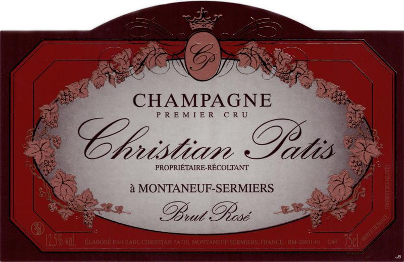 Champagne Christian Patis Rosé